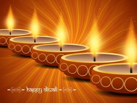 religious background design for Diwali Stock Vector - 22779955