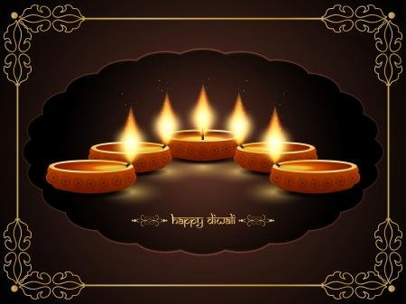 shiny: religious background design for Diwali  Illustration