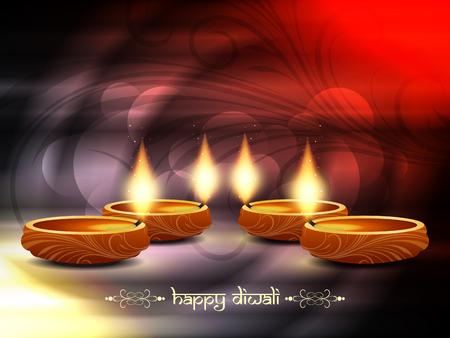 religious background design for Diwali Stock Vector - 22962302