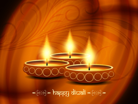 religious background design for Diwali  Stock Vector - 22962338