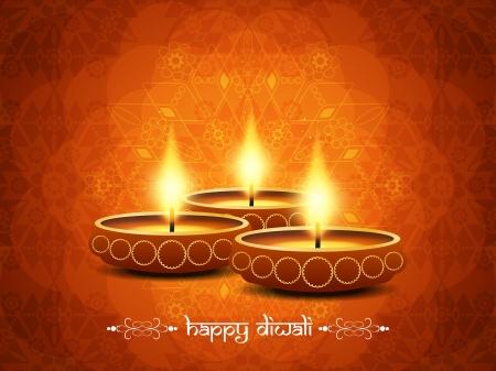 religious background design for Diwali  Vector