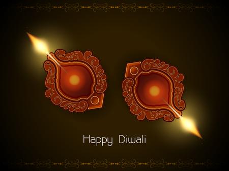 religious background design for Diwali Stock Vector - 23193493