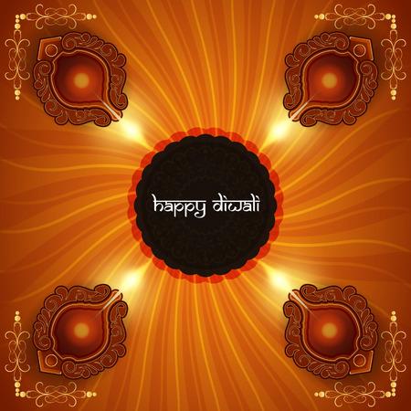 religious background design for Diwali Stock Vector - 23193496