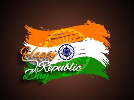 indian flag: Indian flag theme background  Illustration