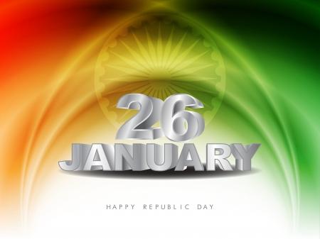 Indian flag theme background  Illustration