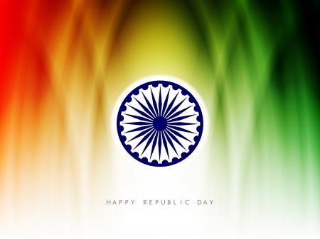 days: Indian flag theme background  Illustration