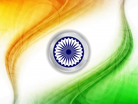 Indian flag theme background  Vector