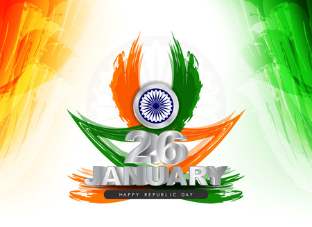 Indian flag theme design Vector