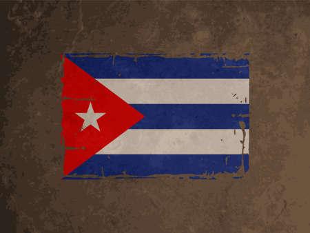 cuban flag: beautiful flag design of Cuba