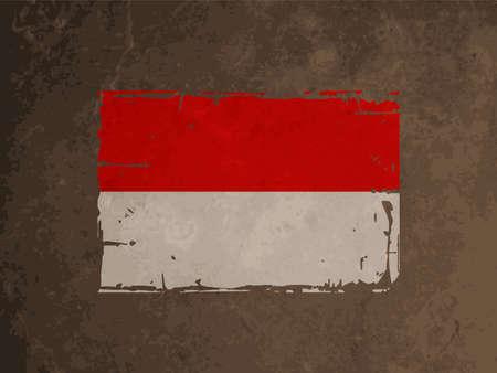 indonesia culture: beautiful flag design of Indonesia