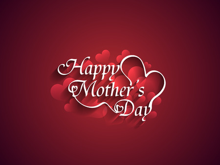 mother's: Beautiful mother s day Background design