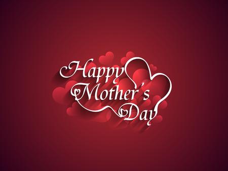 day: Día el diseño Fondo hermoso de la madre s Vectores