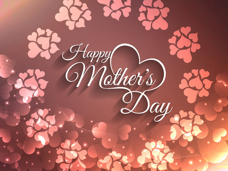 family fun day: Beautiful mother s day background design