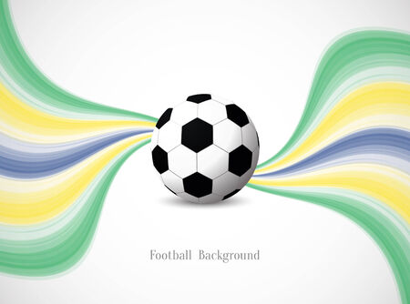 Brazil color theme football background