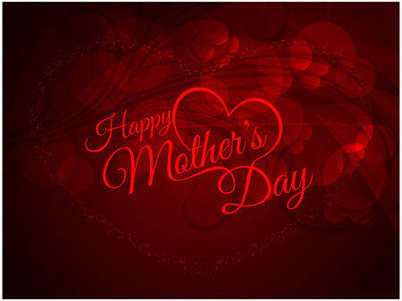 beautiful mother: Beautiful mother s day background design