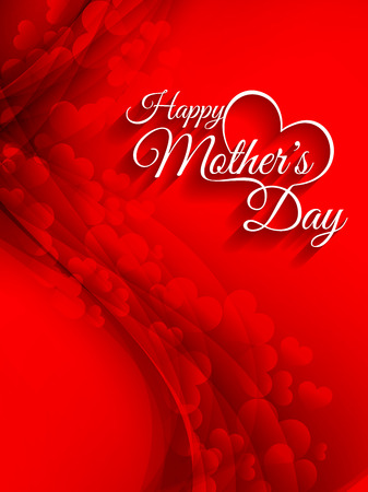 mother s day: Beautiful mother s day background design