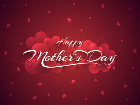 children celebration: Beautiful mother s day background design