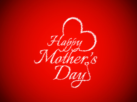 Sketch pattern text design of Mother s day  Vector