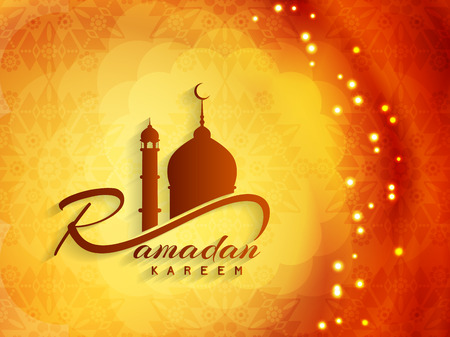 Beautiful ramadan kareem background design