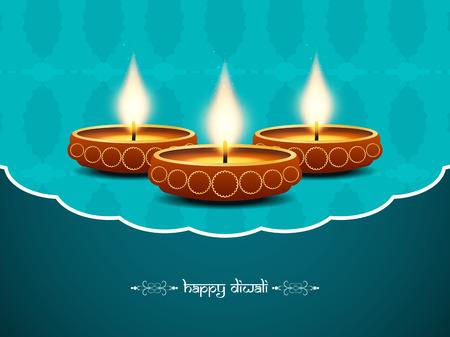 colorful background design for Diwali festival