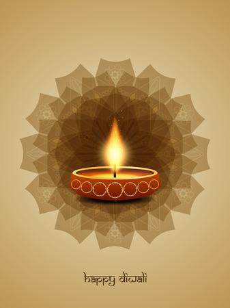 greeting season: Happy Diwali background design. Illustration