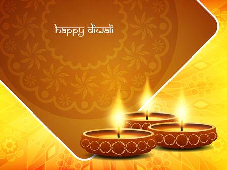 diwali background: Happy Diwali background design. Illustration