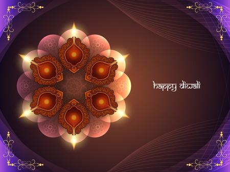 celebração: Design feliz do fundo Diwali.