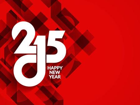 sylwester: Szczęśliwego nowego roku 2015 tło projektu.