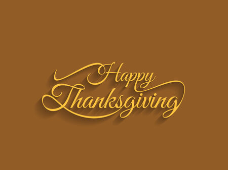 indian thanksgiving: beautiful text design of happy thanksgiving