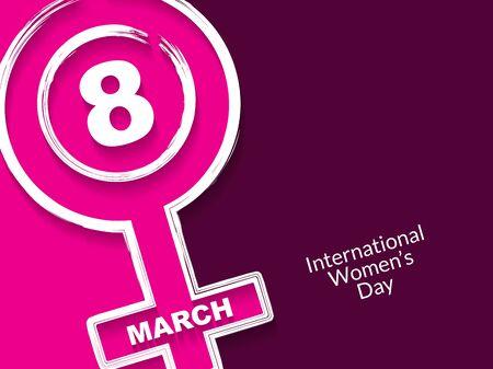mujer elegante: Dise�o Fondo creativa para el d�a de las mujeres