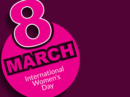 womens day: Creative background design for womens day Illustration