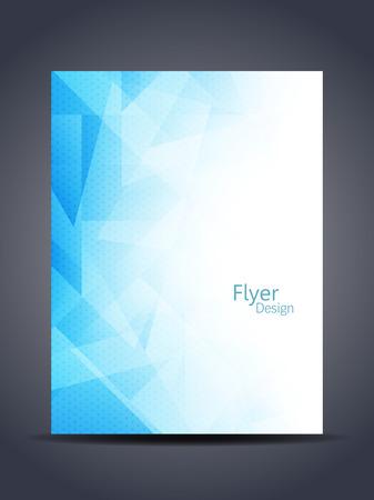 Schöne Flyer Design. Standard-Bild - 38617213