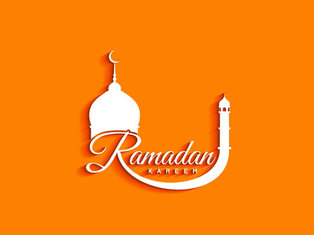Ramadan Kareem decorative background design Illustration