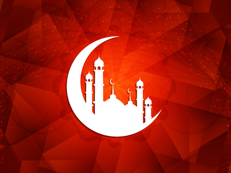 ul: Beautiful Islamic background.