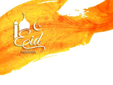 Eid Mubarak Hintergrund Design. Standard-Bild - 42660903