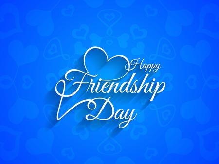 friendship day: Happy Friendship day background design Illustration