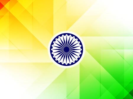 indian festival: Indian flag theme background design
