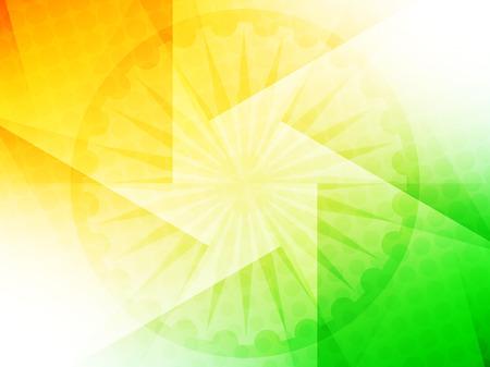 bandera blanca: Bandera de la India dise�o de fondo el tema Vectores