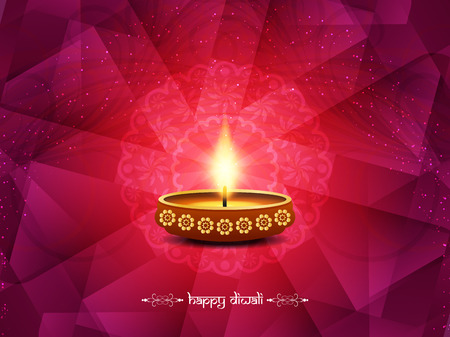Gelukkige Diwali achtergrond ontwerp