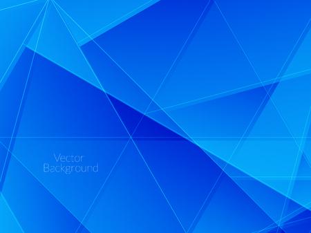 fondo elegante: Elegante fondo de color azul con formas poligonales. Vectores