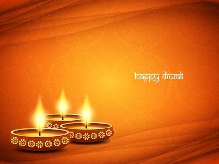 Glückliches Diwali Hintergrund Design. Standard-Bild - 46570275