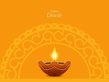 greeting season: Happy Diwali background design