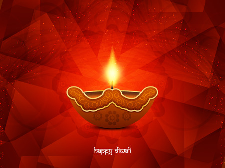 religious celebration: Happy Diwali background design