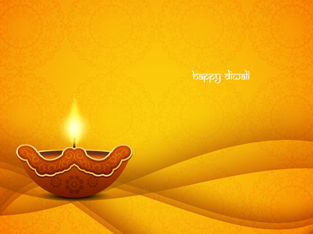 diwali celebration: Happy Diwali background design
