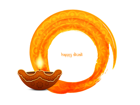 festival vector: Happy Diwali background design