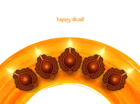 diwali: Happy Diwali background design