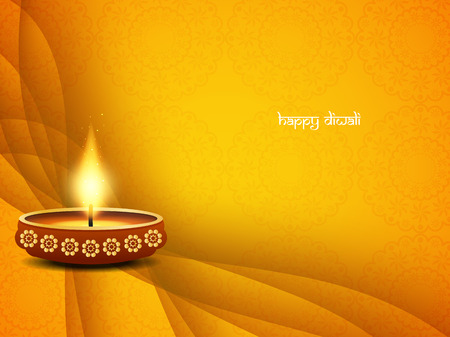 diwali greeting: Happy Diwali background design