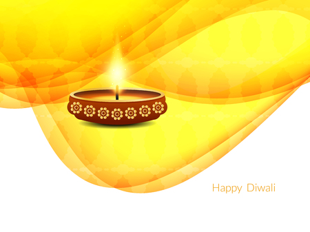 Happy Diwali background design