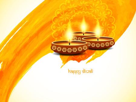 light god: Happy Diwali background design
