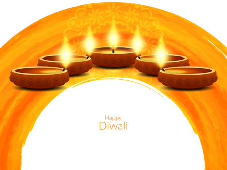 culture decoration celebration: Happy Diwali background design